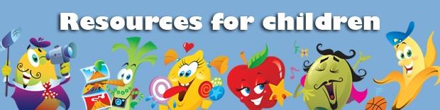 Children's homepage long banner